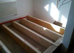 Dřevěná masivní podlaha